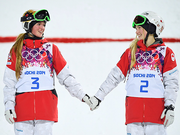 Sisters Justine and Chloe Dufour-Lapointe Win Gold and Silver In Moguls