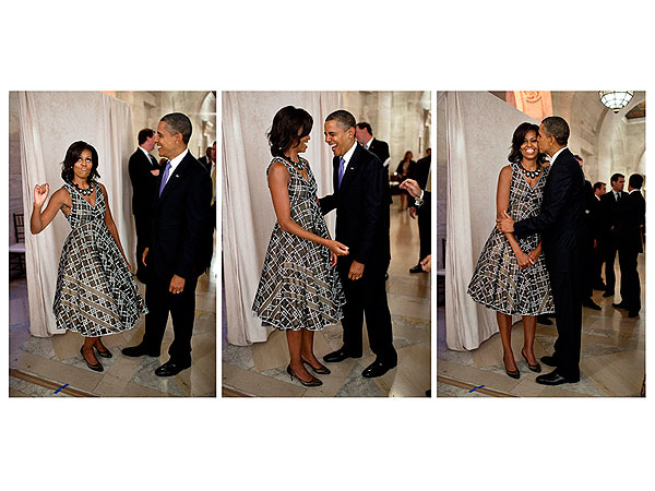Michelle Obama Sends Valentines Day Message to the President Obama on Instagram