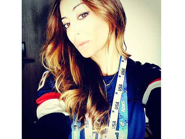 Noureen DeWulf's Olympics Blog: Braving My First All-American Russian Hot Dog