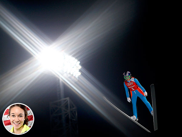 Olympian Sarah Hendrickson: Ski-Jumping Is 'Like Putting Your Hand Out the Car Window'