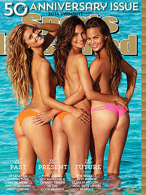 Lily Aldridge, Chrissy Teigen & Nina Agdal Grace Sports Illustrated's 50th Anniversary Swimsuit Issue!