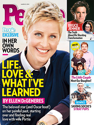 Ellen DeGeneres on Life, the Oscars and Marriage to Porti de Rossi