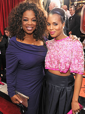 Oprah and Kerry Washington to Present at Black Women in Hollywood Luncheon