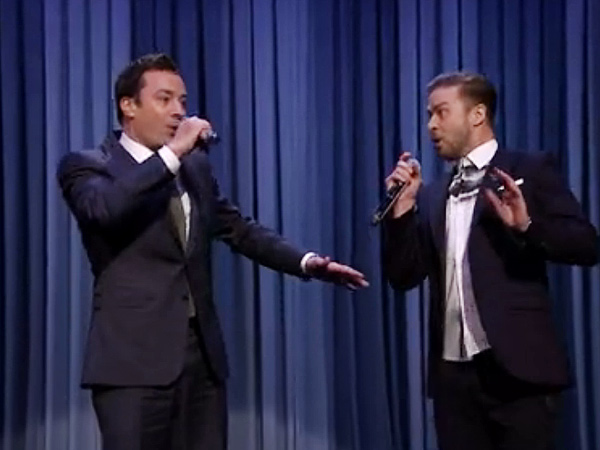 Justin Timberlake & Jimmy Fallon Unleash Latest 'History of Rap' on the Tonight Show