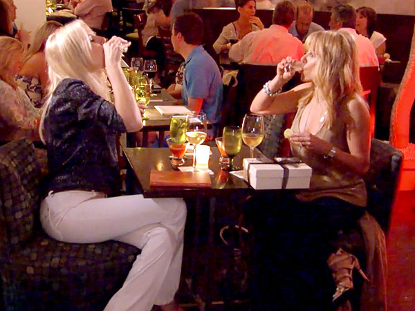 Real Housewives of N.Y.C.'s Aviva Drescher Tries to Kiss and Make Up with Ramona Singer