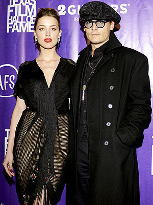 Texas Film Awards: Johnny Depp & Amber Heard Have Date Night