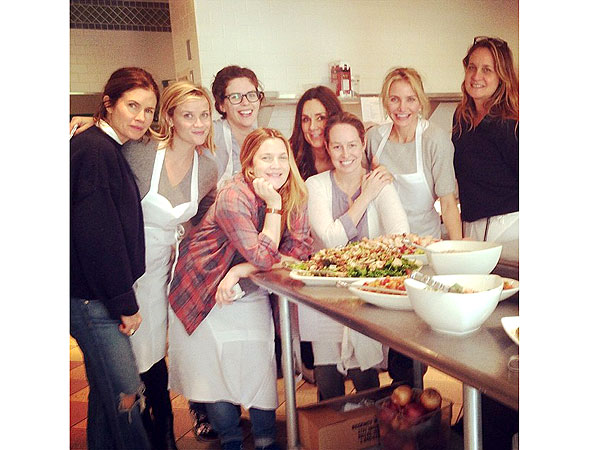 Drew Barrymore, Reese Witherspoon & Cameron Diaz Have a Girls' Getaway in Napa