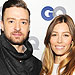 Jessica Biel Celebrates Birthday with Justin Tim