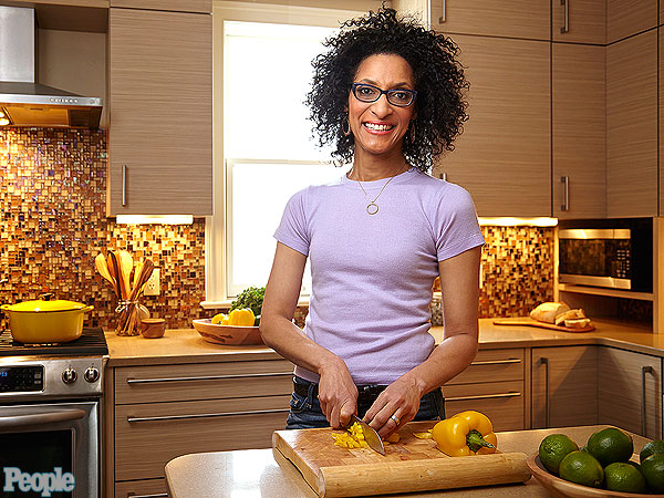 Carla Hall: I Gained 20 Lbs. Hosting The Chew!