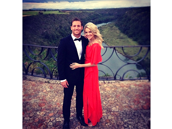 Bachelor's Juan Pablo Galavis and Nikki Ferrell Attend Weekend Wedding: PHOTO