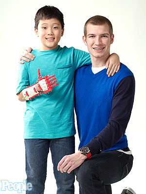 Inspiring Story: Mason Wilde Gives Friend a Hand – Literally