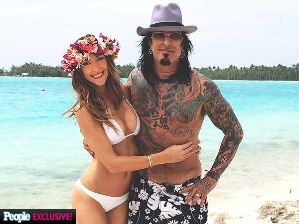 Nikki Sixx and Courtney Bingham Honeymoon in Bora Bora After Wedding