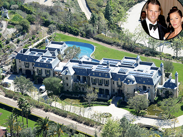 Tom Brady and Gisele Bündchen Put Their Massive Brentwood Estate on the Market