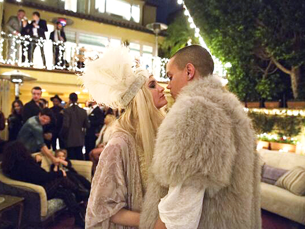 Ashlee Simpson Engaged: Star and Fiance Evan Ross Have Engagement Party