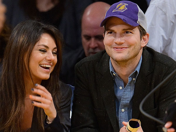 Mila Kunis and Ashton Kutcher Talked about Having Kids for a Year, Source Says