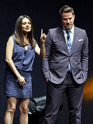 Pregnant Mila Kunis Makes First Appearance Since Baby News, Attends CinemaCon