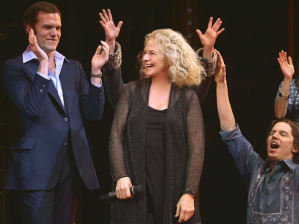 Carole King Makes a Surprise – and Beautiful – Appearance on Broadway