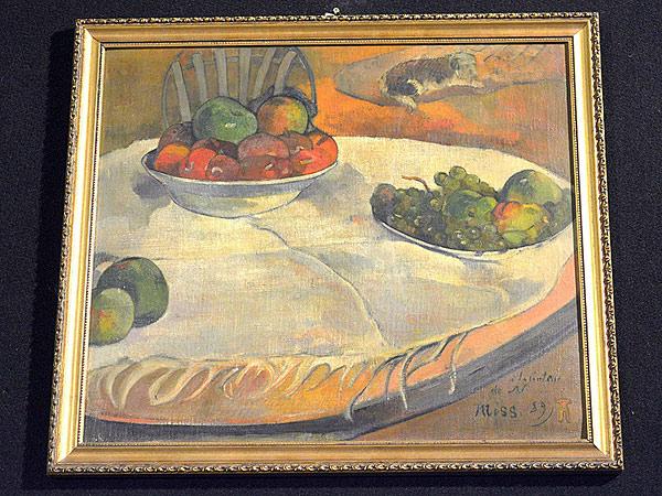 Stolen Gauguin Painting Worth Millions Found in Autoworker's Kitchen