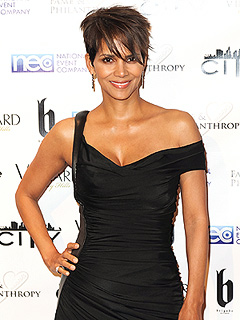 Halle Berry Nahla Big Sister to Maceo-Robert