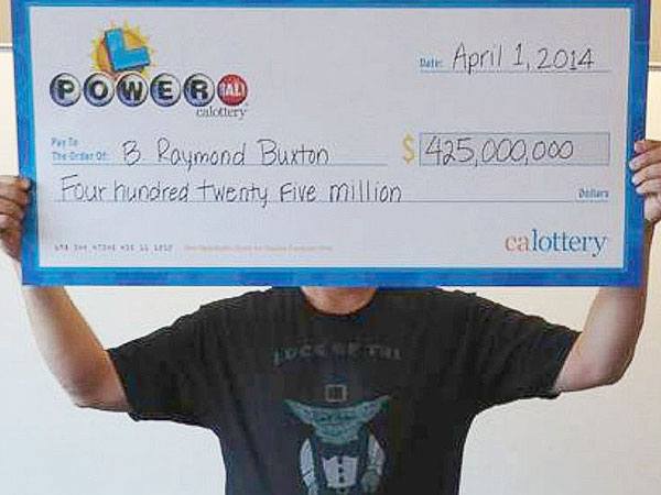 California Man Finally Claims His $425 Million Powerball Win