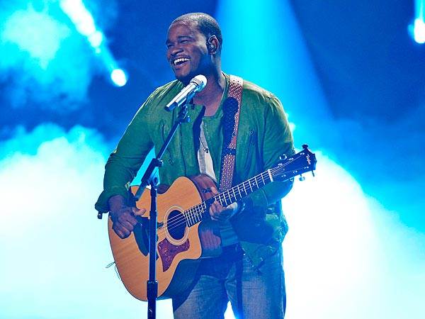 American Idol's C.J. Harris: My Son Helped Me Through the Week