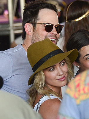 Hilary Duff & Mike Comrie Spotted Together at Coachella, Post-Split