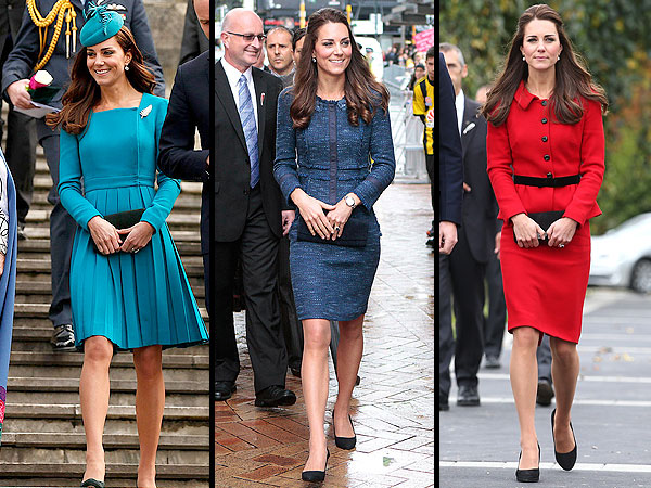 Kate's Royal Tour Style Gets the Thumbs