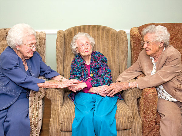 Three Sisters Over 100 Years Old Share Their Secrets to a Long Life