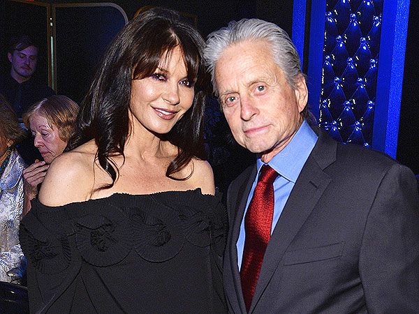 Catherine Zeta-Jones and Michael Douglas Hit the Town Together – Again!