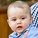 Prince George Spends Easter