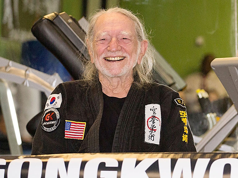 Willie Nelson Gets Black Belt in Martial Art of Gong Kwon Yu Sul