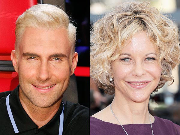 The Voice: Blake Shelton Says Blond Adam Levine Looks Like Meg Ryan