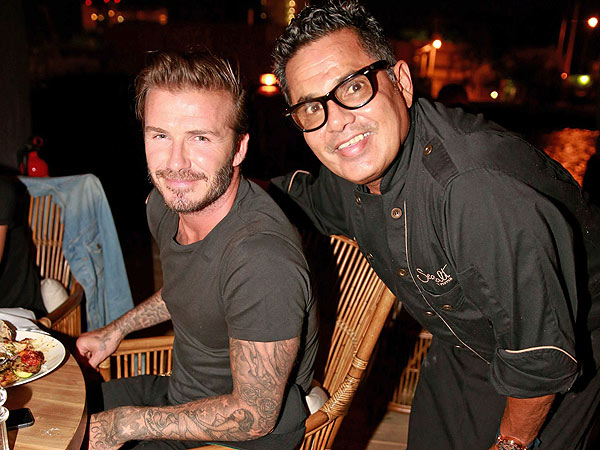 David Beckham's Picture-Perfect Miami Night Out