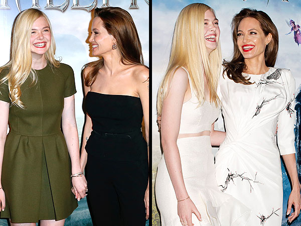 Angelina Jolie Is a Hugger, Says Elle Fanning