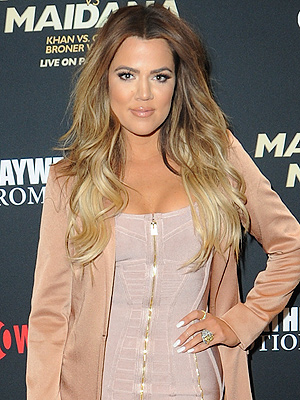 Khloé Kardashian and French Montana Take in Floyd Mayweather's Vegas Fight