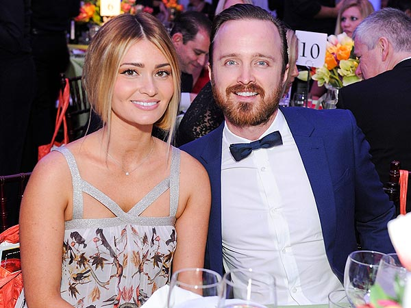 Aaron Paul Is 'So Proud' of His Wife's Work