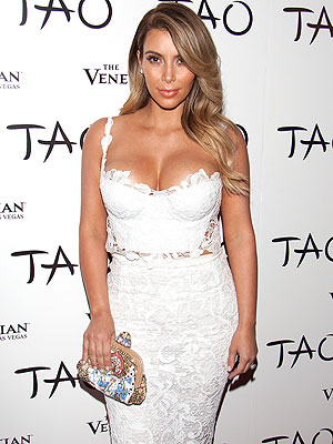 Kim Kardashian Celebrates Her Upcoming Nuptials with a Girls-Only Dinner