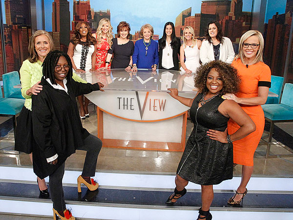 The View Hosts, Past and Present, Reunite on Air