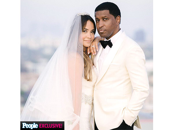 Babyface and Nicole Pantenberg Wedding Photo