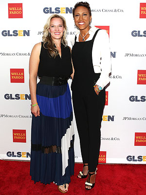 Robin Roberts and Girlfriend Amber Laign Step Out to Support 'Courageous Students'