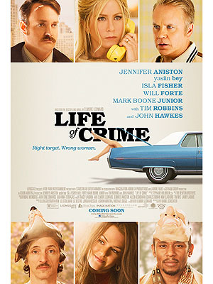 FIRST LOOK: Jennifer Aniston's Life of Crime Movie Poster