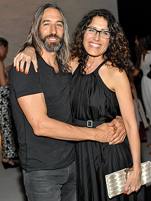 Lisa Edelstein and her husband