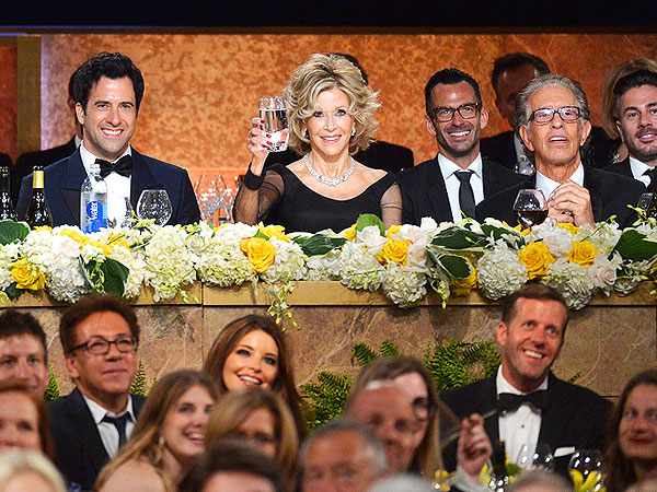 Jane Fonda AFI Honoree - Stars Pay Tribute