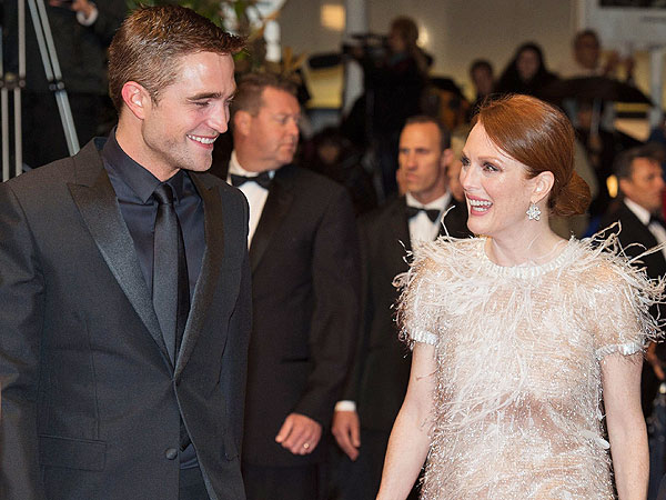 Julianne Moore Scores Cool Mom Points By Working with Robert Pattinson