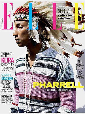 Pharrell Williams in Native American Headdress: Singer Responds to Controversy