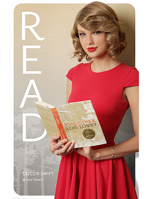 Taylor Swift READ Campaign: Poster from American Library Association