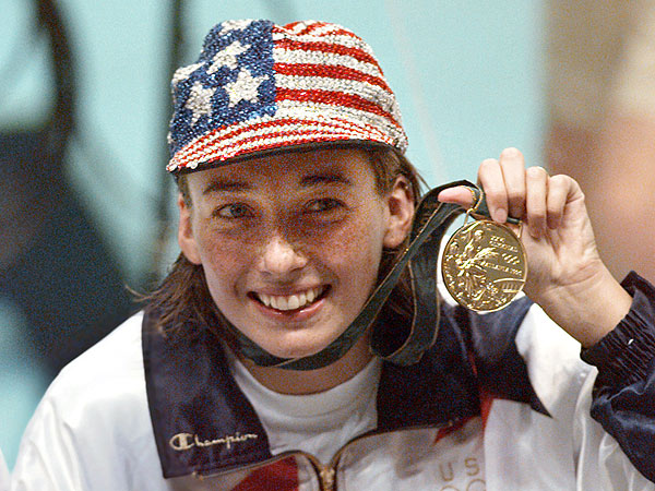 Olympic Swimmer Amy Van Dyken Severs Spine in ATV Accident