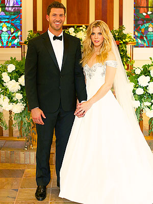Kimberly Perry Official Wedding Photo with J.P. Arencibia