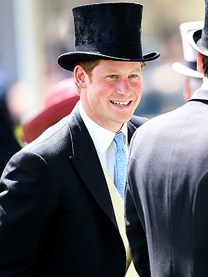 Prince Harry Looks Dapper at His First Royal Ascot Horse Race