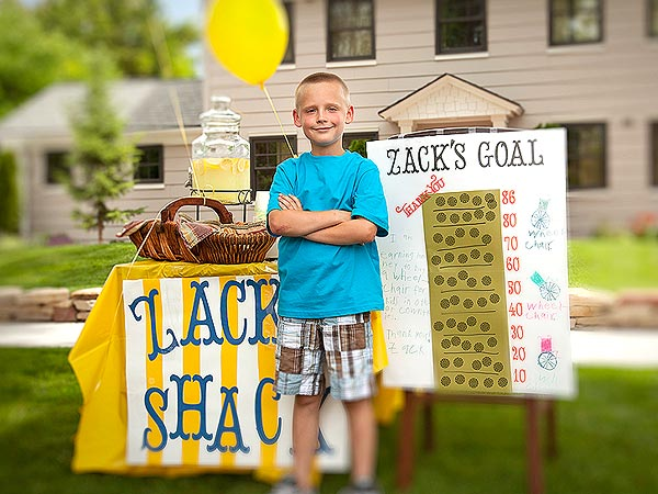 Zack Francom Sells Lemonade to Buy Wheelchairs for Those Who Need Them
